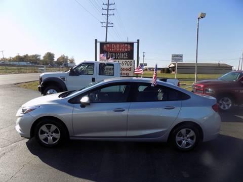 2017 Chevrolet Cruze for sale in O` Fallon, MO