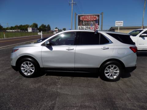 2019 Chevrolet Equinox for sale at MYLENBUSCH AUTO SOURCE in O` Fallon MO