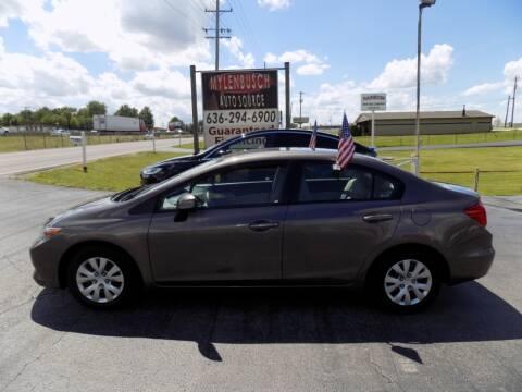 2012 Honda Civic for sale at MYLENBUSCH AUTO SOURCE in O` Fallon MO