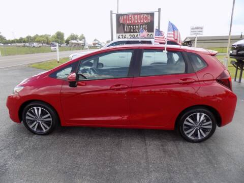 2017 Honda Fit for sale at MYLENBUSCH AUTO SOURCE in O` Fallon MO