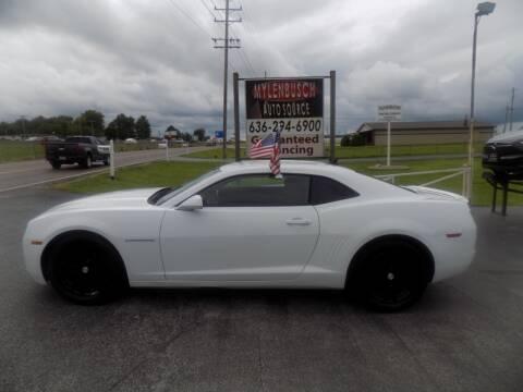 2013 Chevrolet Camaro for sale at MYLENBUSCH AUTO SOURCE in O` Fallon MO