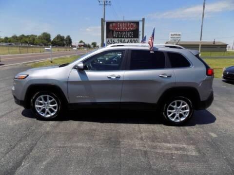 2014 Jeep Cherokee for sale at MYLENBUSCH AUTO SOURCE in O` Fallon MO