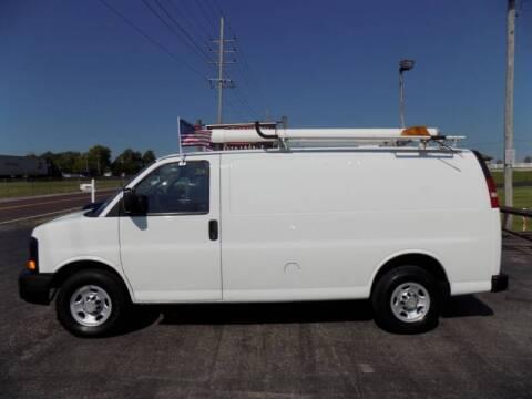 2010 Chevrolet Express Cargo for sale at MYLENBUSCH AUTO SOURCE in O` Fallon MO