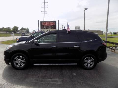 2015 Chevrolet Traverse for sale at MYLENBUSCH AUTO SOURCE in O` Fallon MO