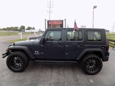 2007 Jeep Wrangler Unlimited for sale at MYLENBUSCH AUTO SOURCE in O` Fallon MO