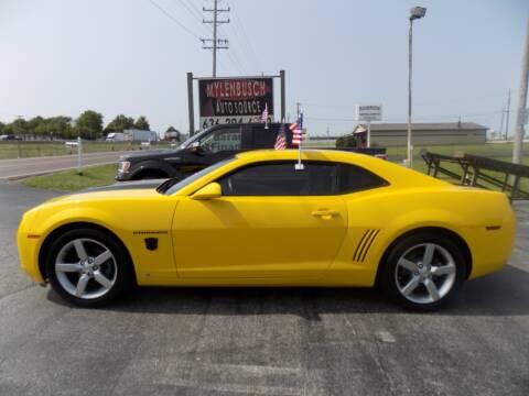 2010 Chevrolet Camaro for sale at MYLENBUSCH AUTO SOURCE in O` Fallon MO