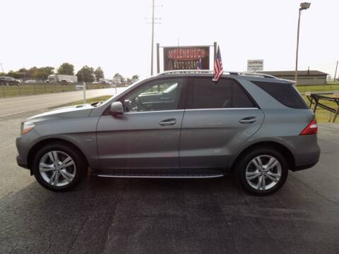 2012 Mercedes-Benz M-Class for sale at MYLENBUSCH AUTO SOURCE in O` Fallon MO