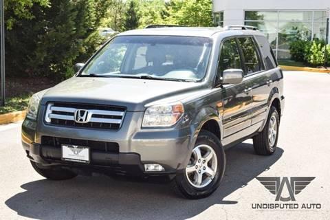 2007 Honda Pilot for sale at Undisputed Auto Sales & Repair Inc in Chantilly VA