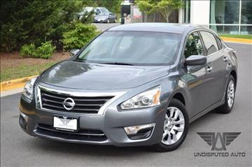 2014 Nissan Altima for sale at Undisputed Auto Sales & Repair Inc in Chantilly VA