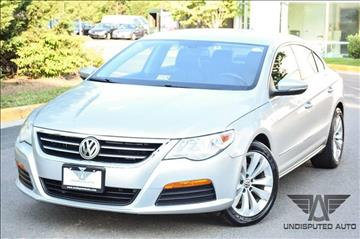 2011 Volkswagen CC for sale at Undisputed Auto Sales & Repair Inc in Chantilly VA