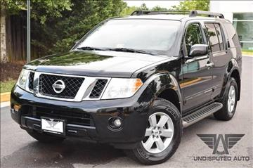2008 Nissan Pathfinder for sale at Undisputed Auto Sales & Repair Inc in Chantilly VA