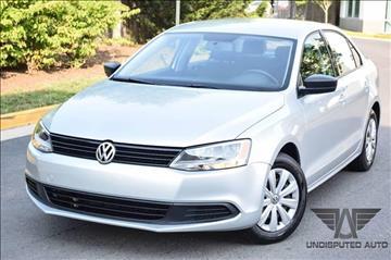 2013 Volkswagen Jetta for sale at Undisputed Auto Sales & Repair Inc in Chantilly VA