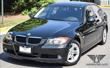 2008 BMW 3 Series for sale at Undisputed Auto Sales & Repair Inc in Chantilly VA
