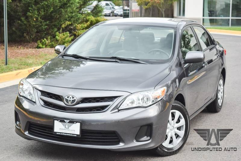 2011 Toyota Corolla for sale at Undisputed Auto Sales & Repair Inc in Chantilly VA