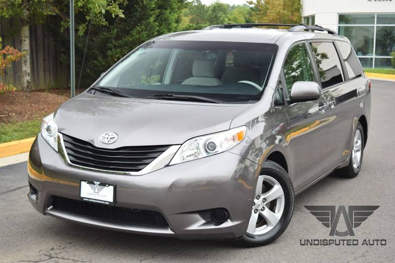 2011 Toyota Sienna for sale at Undisputed Auto Sales & Repair Inc in Chantilly VA