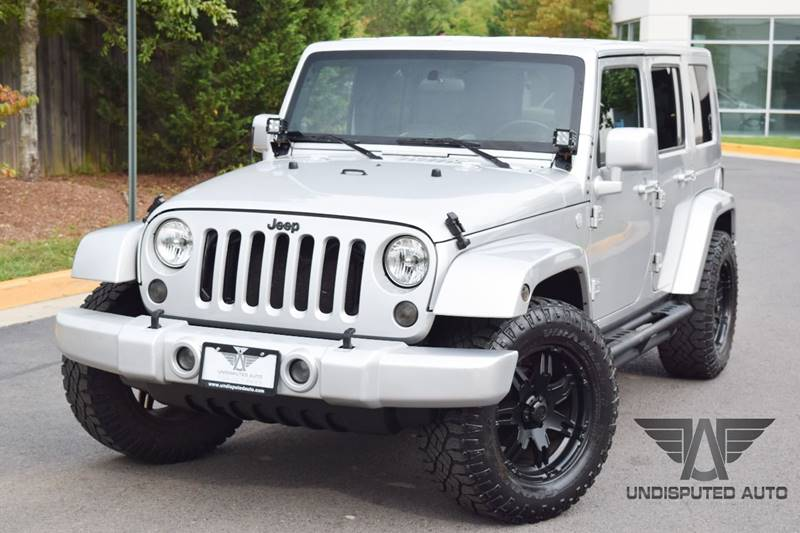 2010 Jeep Wrangler Unlimited for sale at Undisputed Auto Sales & Repair Inc in Chantilly VA