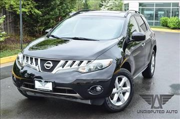 2009 Nissan Murano for sale at Undisputed Auto Sales & Repair Inc in Chantilly VA