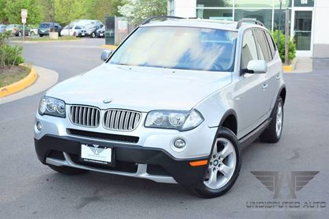 2007 BMW X3 for sale at Undisputed Auto Sales & Repair Inc in Chantilly VA