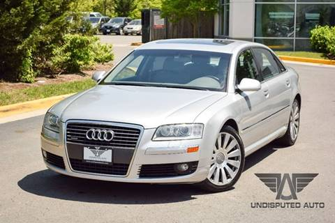 2007 Audi A8 L for sale at Undisputed Auto Sales & Repair Inc in Chantilly VA