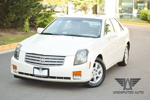 2006 Cadillac CTS for sale at Undisputed Auto Sales & Repair Inc in Chantilly VA