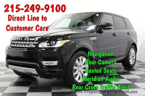 2016 Land Rover Range Rover Sport for sale in Perkasie, PA