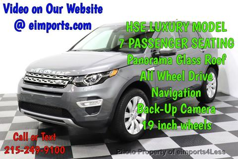 2016 Land Rover Discovery Sport for sale in Perkasie, PA