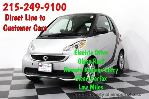 2015 Smart fortwo electric drive for sale in Perkasie, PA