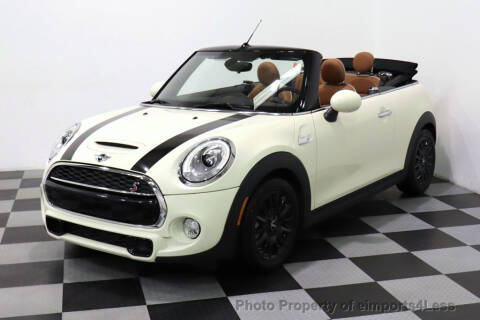Used Mini Cooper Convertible >> 2017 Mini Convertible For Sale In Perkasie Pa