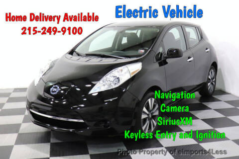 2016 Nissan LEAF for sale at eimports4Less in Perkasie PA