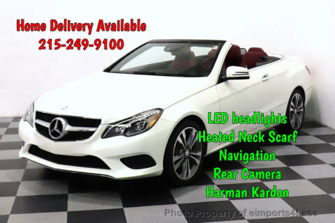 2017 Mercedes-Benz E-Class E 400 for sale at eimports4Less in Perkasie PA