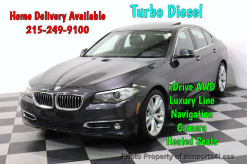 2016 BMW 5 Series 535d xDrive for sale at eimports4Less in Perkasie PA