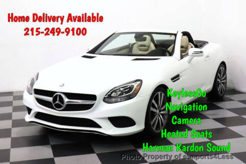 2017 Mercedes-Benz SLC SLC 300 for sale at eimports4Less in Perkasie PA
