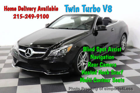 2016 Mercedes-Benz E-Class E 550 for sale at eimports4Less in Perkasie PA