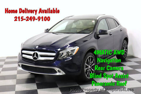 2017 Mercedes-Benz GLA GLA 250 4MATIC for sale at eimports4Less in Perkasie PA