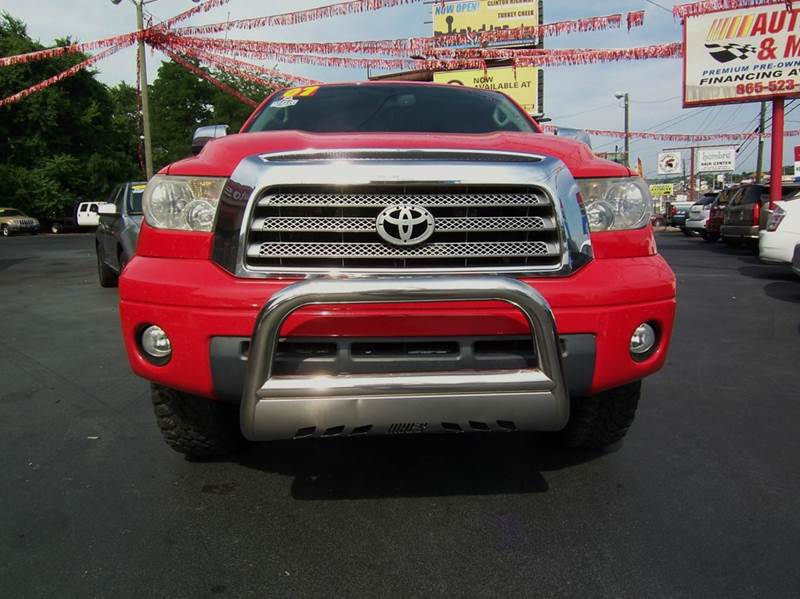 2007 Toyota Tundra Limited 4dr Double Cab 4WD SB (4.7L V8) - Knoxville TN