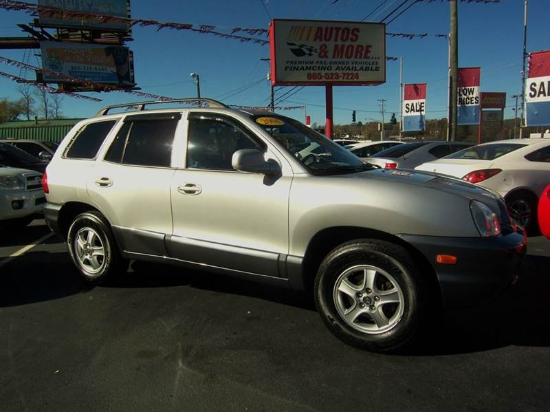 2004 hyundai santa fe gls awd 4dr suv in knoxville tn autos and more inc. Black Bedroom Furniture Sets. Home Design Ideas