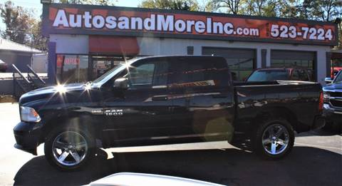 2015 RAM Ram Pickup 1500 for sale at Autos and More Inc in Knoxville TN