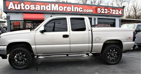2006 Chevrolet Silverado 1500 for sale at Autos and More Inc in Knoxville TN