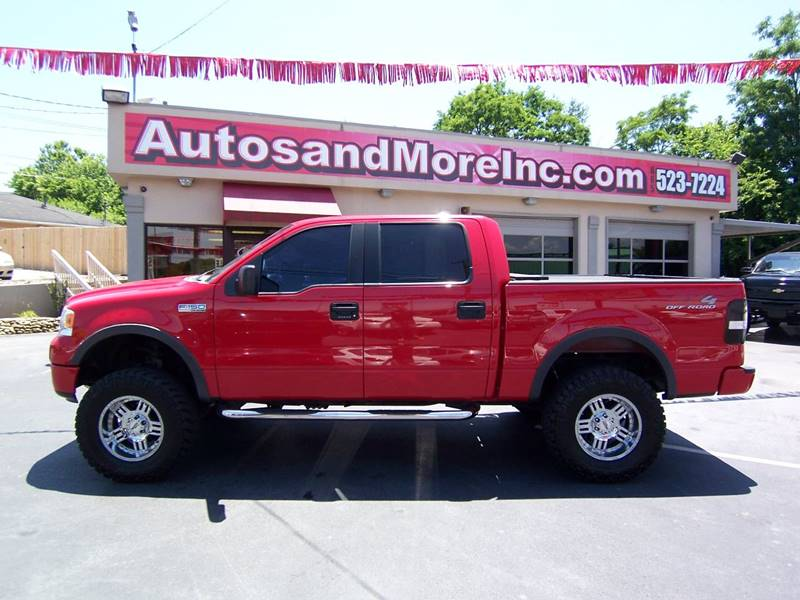2005 Ford F-150 4dr SuperCrew FX4 4WD Styleside 5.5 ft. SB - Knoxville TN