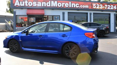 2015 Subaru WRX for sale at Autos and More Inc in Knoxville TN