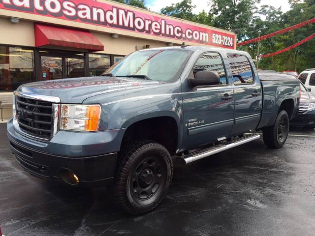 2008 GMC Sierra 2500HD 4WD SLE2 4dr Crew Cab SB - Knoxville TN