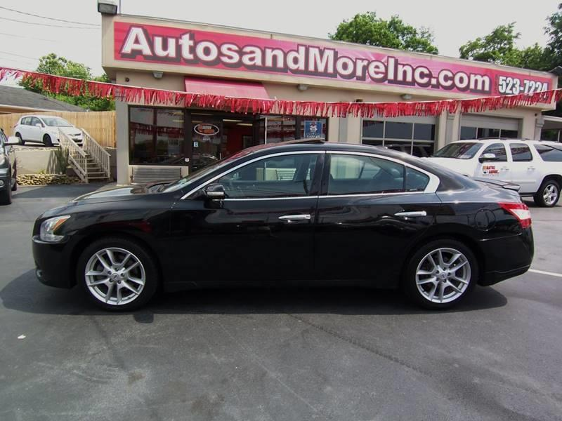 2010 Nissan Maxima 3.5 SV 4dr Sedan - Knoxville TN