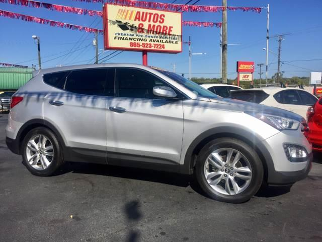 2013 Hyundai Santa Fe Sport for sale at Autos and More Inc in Knoxville TN