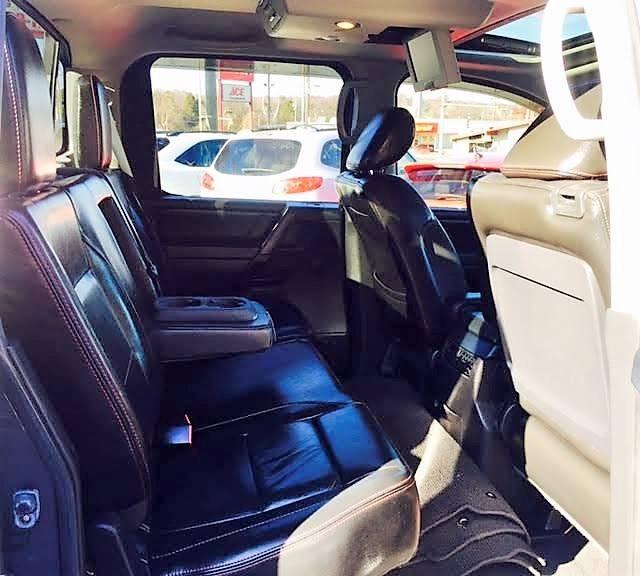 2012 Nissan Titan 4x4 PRO-4X 4dr Crew Cab SWB Pickup - Knoxville TN