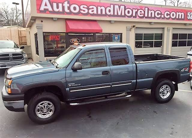 2007 Chevrolet Silverado 2500HD Classic LT1 4dr Extended Cab 4WD SB - Knoxville TN