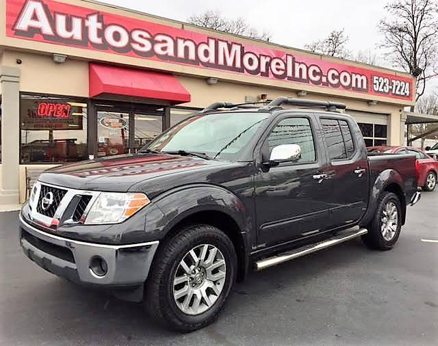 2010 Nissan Frontier 4x4 LE 4dr Crew Cab SWB Pickup 5A - Knoxville TN