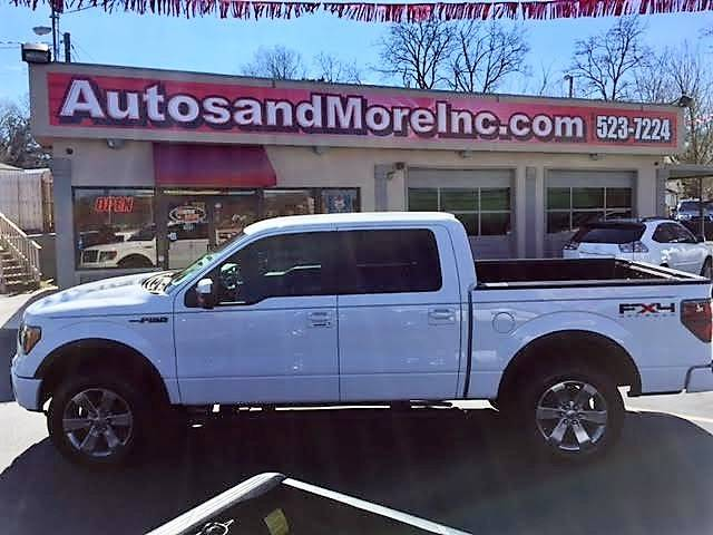 2011 Ford F-150 4x4 FX4 4dr SuperCrew Styleside 5.5 ft. SB - Knoxville TN