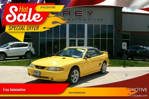 1998 Ford Mustang Svt Cobra For Sale In Muskego Wi
