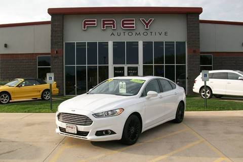 2014 Ford Fusion for sale in Muskego, WI