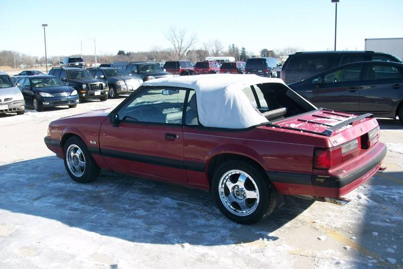 1989 Ford Mustang LX 5.0 2dr Convertible - Muskego WI